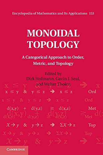 Monoidal Topology: A Categorical Approach to Order, Metric and Topology (Encyclopedia of Mathematics and its Applications)