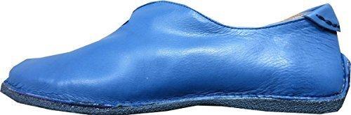 Pantofola Donna in pelle di Eddie Costruttore Azul