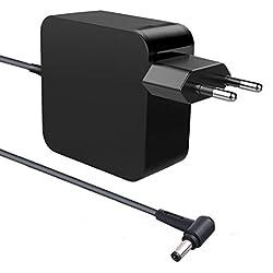 65W Notebook Chargeur Adaptateur Secteur Cordon d'alimentation pour ASUS X751 X751L X751LX R556 R556L R556LA S400 S400C S301LA S301 F555 F555LA F554 F554L F551C F551 TP550L TP550 K551L K551 K550 R501l
