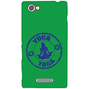 Sony Xperia M Back Cover - Yoga Designer Cases