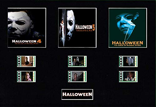 Generic Halloween 4,5Curse of Michael Myers Trilogy Film Cell Style Display 10x 8montiert, gerahmt, 25 x 20 cm