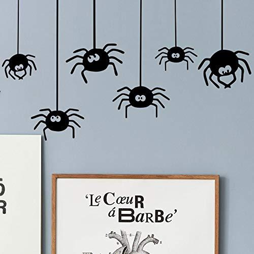 Halloween Spinne Wandaufkleber Party Dekorative Aufkleber DIY Wandkunst Aufkleber Dekoration Oom Dekoration Party Hochzeit ()