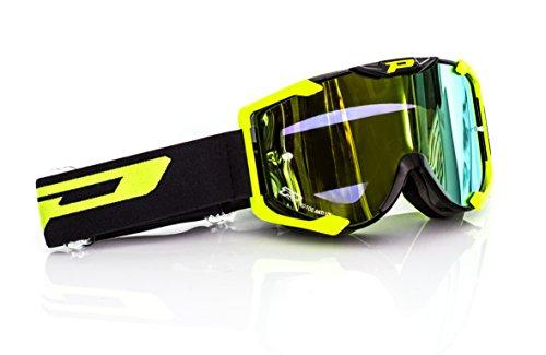 Preisvergleich Produktbild Progrip MX Brille 3404 Multilayered,  Gelb,  Größe uni