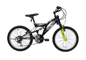 Firefox Alfa 20 Bike, Kid's 20-inch (Black/Green)