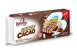 Balconi Snack Cacao - Confezione da 10 Pezzi x 33 gr [330 gr]