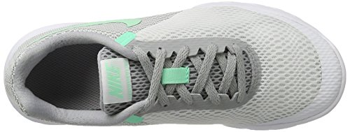 Nike Flex Experience Run 6, Scarpe Running Donna Grigio (White/green Glow-wolf Grey)