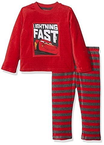 Z Cars, Ensemble de Pyjama Garçon, Rouge (Rouge), 6 Ans (Taille Fabricant: 6A)