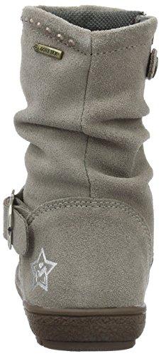 Primigi CALISHA-E, Bottes courtes avec doublure chaude fille Gris - Grau (TALPA)
