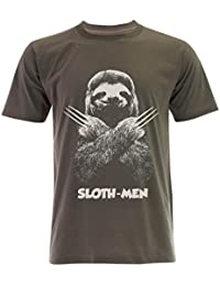 PALLAS Unisex's Sloth Men Lazy Running Team T-Shirt