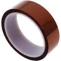 Sonline 100 pies 33m 30mm Kapton cinta de alta temperatura de calor de poliimida resistente