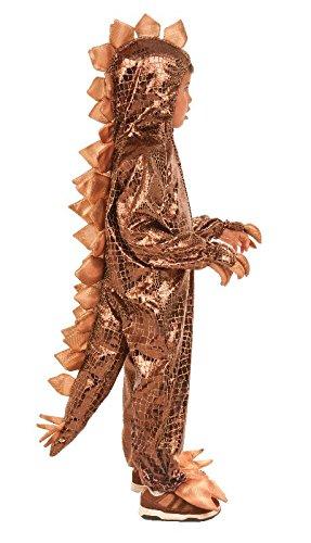 (Kinder Kostüm Stegosaurus Dinosaurier zu Karneval Fasching Gr.5-6 J.)
