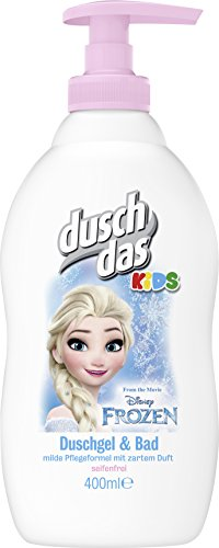 Duschdas Kids Duschgel & Bad Disney Frozen Pumpspender, 6er Pack (6 x 400 ml)