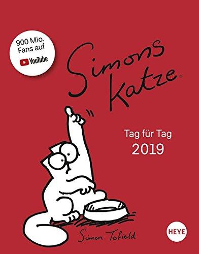 Simons Katze Tagesabreißkalender - Kalender 2019