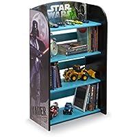 Star Wars Bücherregal Organizer Spielzeugregal Spielzeugkiste Darth Vader Yoda Jedi Stormtrooper Regal preisvergleich bei kinderzimmerdekopreise.eu