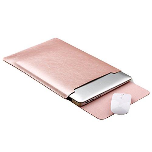 Super moderne Nachahmung PU-Leder Laptop-Hülle für iPad Pro/MacBook Air/MacBook Pro/Notebook/Ultrabook/Chromebook - 11-15 Zoll