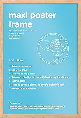 Cadre 60x90 - GB Eye LTD, Hêtre - Maxi, 61x91.5cm