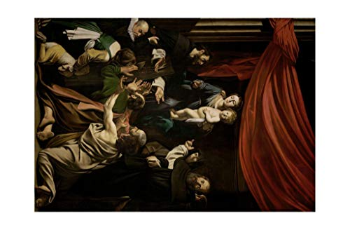 Caravaggio - Madonna of the Rosary 1607 Print 60x91.5cm