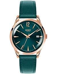 07eb914d611bce Henry Stratford London Unisex Bracelet Watch Analogue Quartz Leather (HL39  0134 (Certified Refurbished)