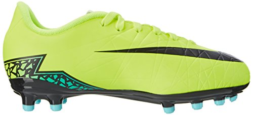 Nike Hypervenom Phelon Ii Fg, Chaussures de Football Mixte Enfant Jaune (Volt/Hyper-Türkis/Klares Jade/Schwarz)