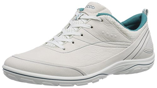 Ecco Arizona Damen Sneaker Beige (ShadowWhite/Pagoda Blue Yab/Dec58928)