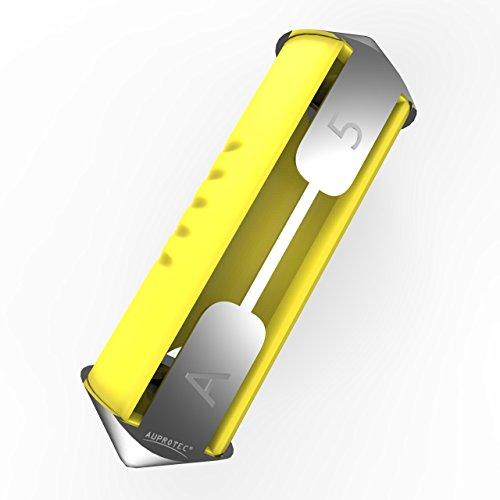 Preisvergleich Produktbild AUPROTEC Torpedo Sicherung Schmelzsicherung 5A - 40A Auswahl: 5A Ampere gelb,  10 Stück