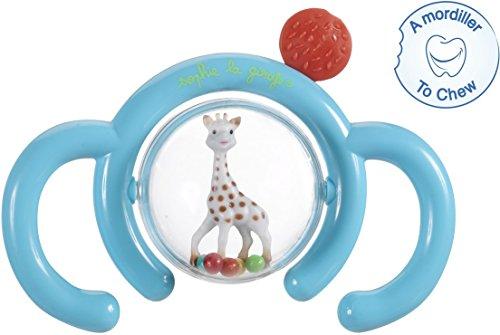 Vulli, Sonaglino Fraisy con doppia impugnatura'Sophie la giraffa'