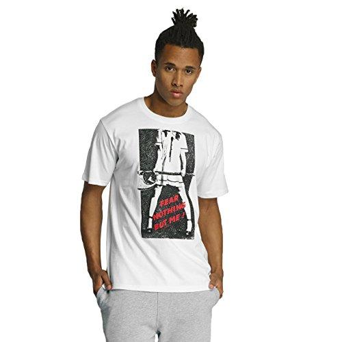 Dangerous DNGRS Herren Oberteile / T-Shirt Headless Weiß