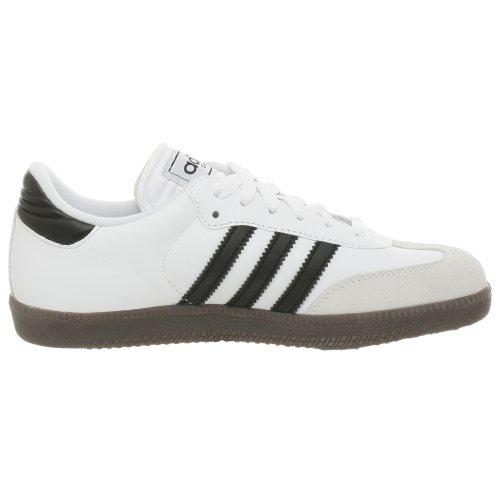 Adidas Samba Classic Leder-FuÃ?ball-Schuh (Kleinkind / kleines Kind / big Kid), Laufen WeiÃ? / Schwa White/Black/Running White