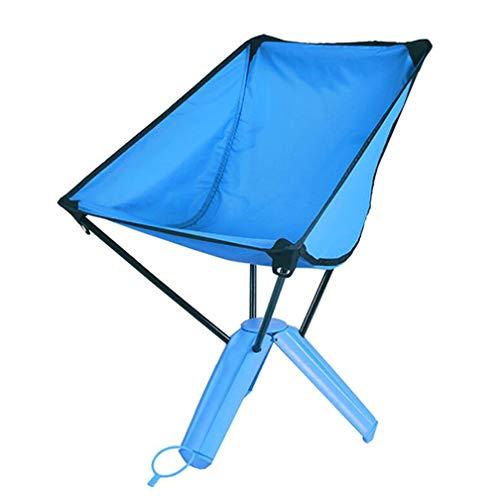 SZP Chaise Pliante extérieure, Chaise de Triangle de Tasse d'eau, Chaise de pêche de Pique-niquer Portable Barbecue, approprié pour Le Tourisme Alpinisme Voiture de Plage spécial,Blue
