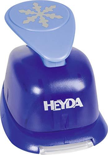 Heyda 203687513 203687513 Motivstanzer, groß Motivgröße: ca. 2,5 cm, Motiv: Schneeflocke