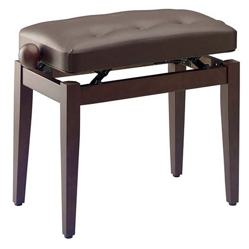 STAGG PB43 25010266 WNM SBR VINILO NUEZ PIANO BANCO DE BROWN