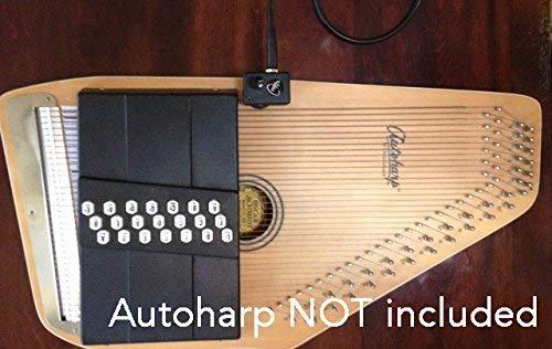 Autoharp Tonabnehmer von Myers Pickups ~ siehe ES in Action. Kopieren und Einfügen: myerspickups. COM