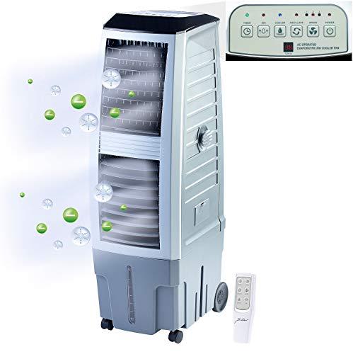Sichler Haushaltsgeräte Klimageräte: Verdunstungs-Luftkühler mit Ionisator LW-650, 180 Watt, 3 Liter/Std. (Luftkühler Klimageräte)