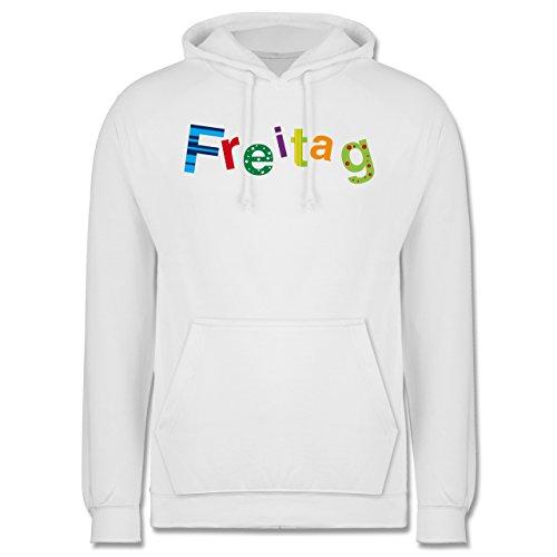 Statement Shirts - Freitag - Männer Premium Kapuzenpullover / Hoodie Weiß
