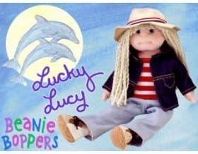 TY TY TY Beanie Bopper - LUCKY LUCY by Ty cba69e