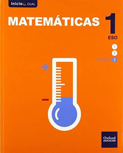 Inicia Dual Matemáticas 1º ESO Libro del Alumno Volumen 3