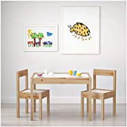 mesa de luz Montessori RGBW 64x48cm