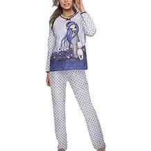95278bbd22 ADMAS - Pijama Mujer Santoro GORJUSS Mujer