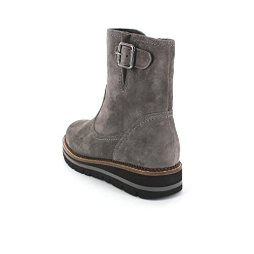 GABOR comfort - Damen Boots - Blau Schuhe in Übergrößen elephant (Mel.)