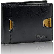 Portafoglio Uomo Piccolo Vera Pelle Intelligente Protezione RFID-NFC - 2A  Generazione - Artigianale 9 f67a756d9cdf