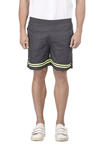 Trendy Trotters Grey and Fluorescent Sports Short