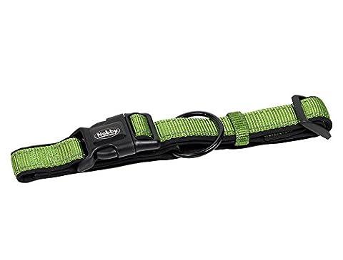 Nobby Classic Reflect Soft Collar, 25 - 35 cm, Pastel Green/Black