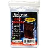 1000 Ultra Pro Soft Sleeves - 10 Packs - Ultra Clear - 3 x 4 - Magic: The Gathring - Yu-Gi-Oh!