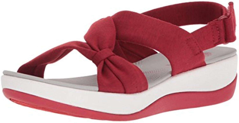 Clarks Wouomo Arla Arla Arla Primrosa Sandal, rosso Heatherosso Fabric, 6.5 Wide US | Il Nuovo Prodotto  ace04c
