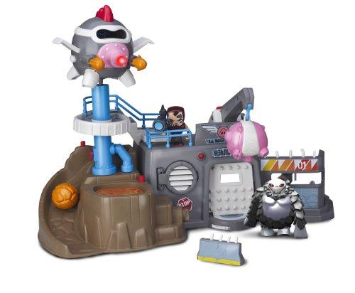 Famosa 700011344–Mutant Busters Hauptquartier der Rebellen