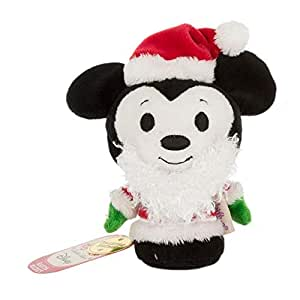 Santa Mickey Mouse Itty Bittys Collector's Edition Plush Soft Toy