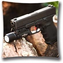 Diseño de DIY Lovely Home Decorative Custom Glock funda de almohada de 18x 18(dos lados), sdi4063por casa museos