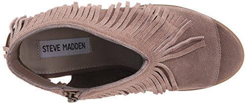 Steve Madden Rock-It-Boot Taupe Suede