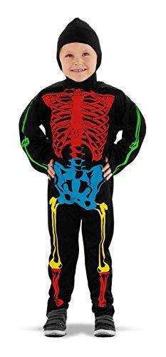 Imagen de folat 23705–esqueleto disfraz, multicolor alternativa
