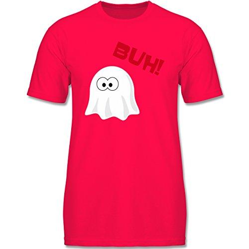 Anlässe Kind - Kleiner Geist Buh süß - 116 (5-6 Jahre) - Rot - F140K - Kinder T-Shirt für (Jungen Für Allerheiligen Kostüme)
